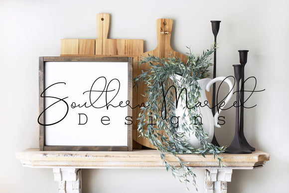 12X12 WOOD FARMHOUSE DIGITAL MOCK UP STOCK PHOTOGRAPHY