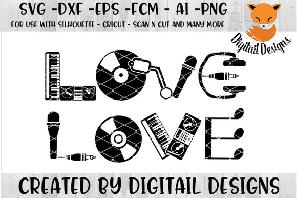 Disc Jockey DJ Love