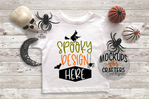 Mock-Up - T-Shirt - Halloween