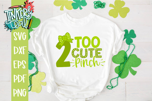 Too Cute 2 Pinch Funny SVG