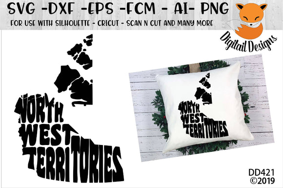 North West Territories Wordart