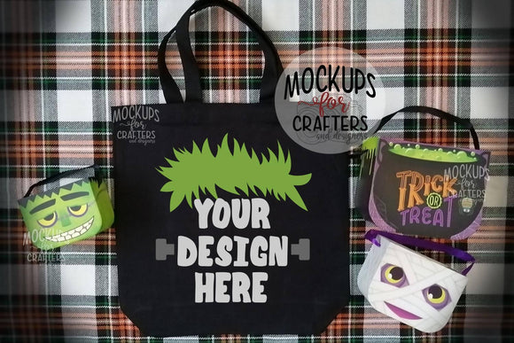 Treat Bag, Tote Bag - Mock-Up