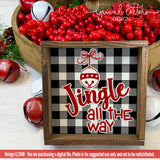 Buffalo Plaid Jingle All The Way