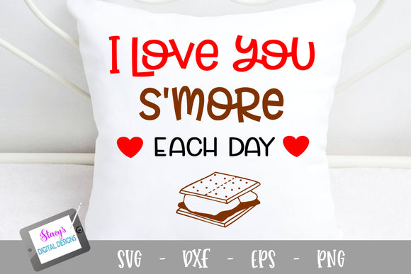 Pun SVG - I love you s'more each day SVG