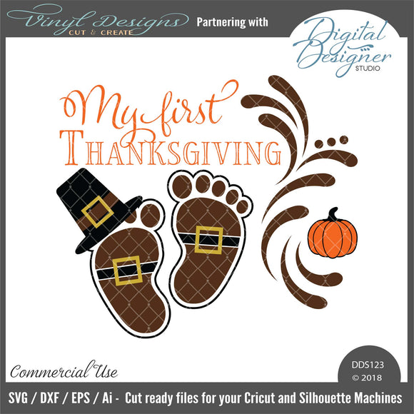 DDS123 - My First Thanksgiving