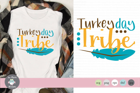 Turkey Day Tribe svg