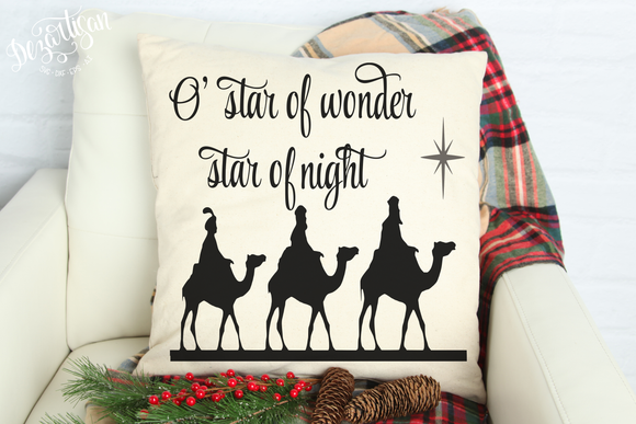 O' Star of Wonder SVG | DXF Cut File