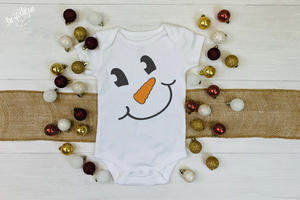 Cheerful Snowman SVG | DXF Cut File