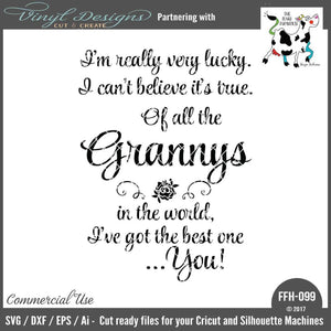 Of All the Grannys in the World