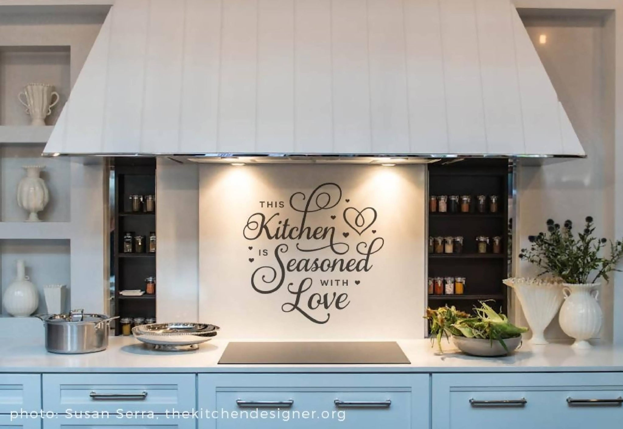 This Kitchen Is Seasoned With Love Svg Cut File Svg Font Market