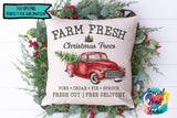 Farm Fresh Christmas Trees - PNG Printable