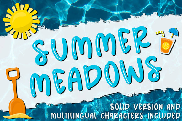 Summer Meadows Font OTF TTF