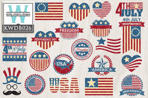 BUNDLE - Patriotic SVG Bundle2