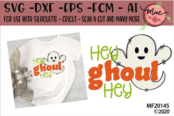 Hey Ghoul Hey Ghost SVG