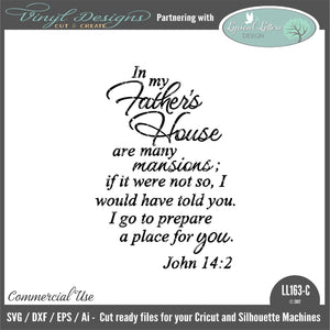 In My Father's House John 14:2