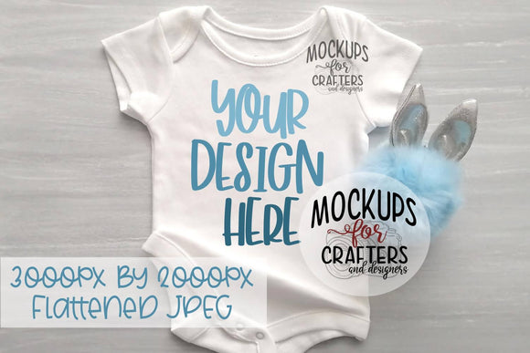 Baby Bodysuit Mock-Up