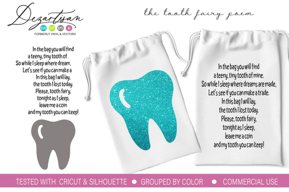 Tooth Fairy Poem SVG | DXF Cut File