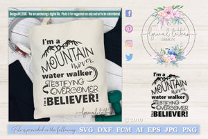 I'm a Believer SVG Cut File