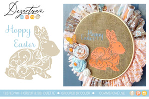 Hoppy Easter SVG | DXF Cut File
