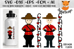 Canadian Mountie SVG