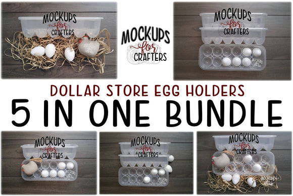 Dollar Tree Egg Carton / Egg Holder BUNDLE 1
