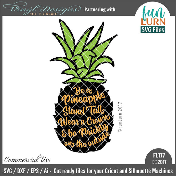 Be a Pineapple- Prickly Cut File