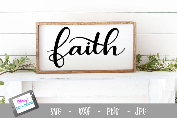 Faith SVG - Christian SVG, Religious SVG