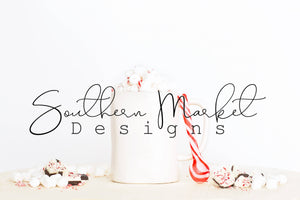 COFFEE MUG CUP CHRISTMAS DIGITAL MOCK UP STOCK PHOTOGRAPHY