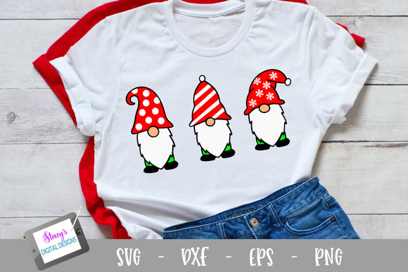 Christmas Gnomes SVG - Christmas SVG