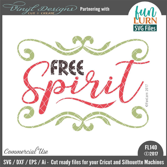 Free Spirit Cut File
