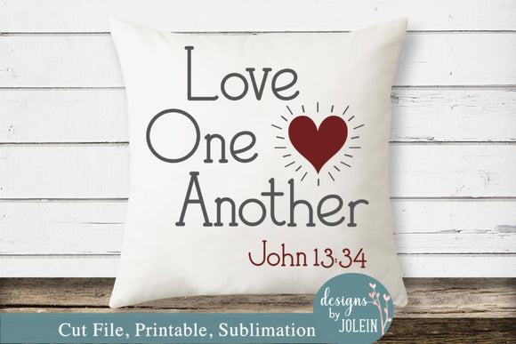 Love One Another heart
