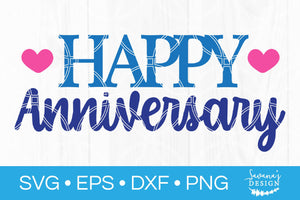 Happy Anniversary SVG
