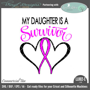 Daughter Survivor Ribbon