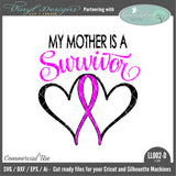 Mother Survivor Ribbon