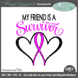 Friend Survivor Ribbon