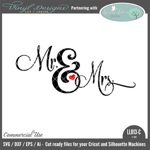 LL013C - Mr. and Mrs. Ampersand