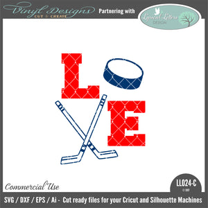 LL024C - Hockey Love