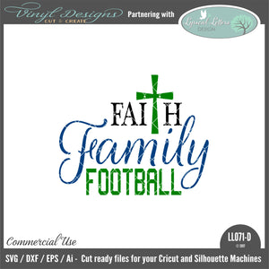 LL071D - Faith Family Football