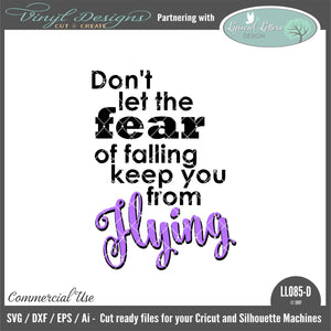 LL085D - Don't Let the Fear of Falling Keep You From Flying