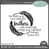 Psalm 91:4 He Will Cover You With His Feathers