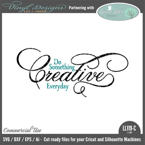 LL119C - Do Something Creative Everyday