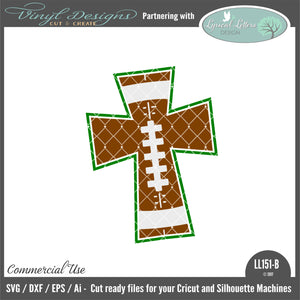 LL151B - Football Cross