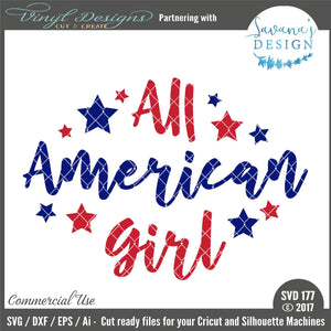 All American Girl Cut File