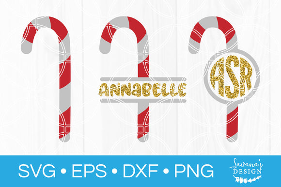 Candy Cane SVG Bundle