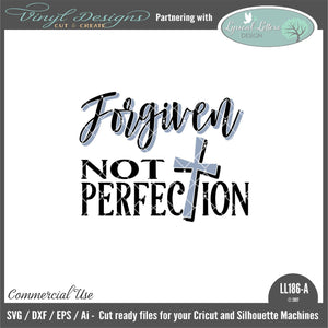 Forgiven Not Perfection