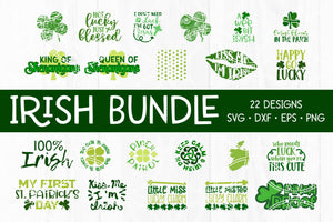 Saint Patricks Day Cut File Bundle