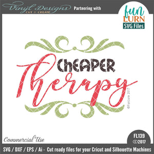 Cheaper Therapy Cut File