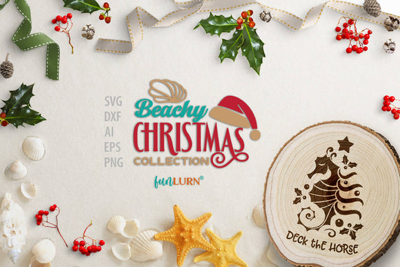 The Beachy Christmas Collection | SVG Cut File Bundle