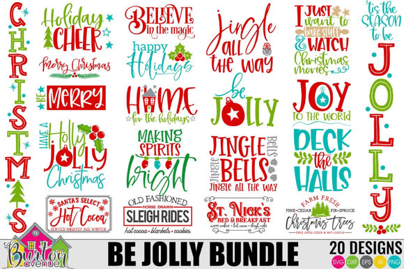 Be Jolly Christmas Bundle