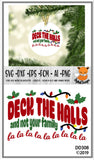 Deck The Halls Funny Christmas SVG